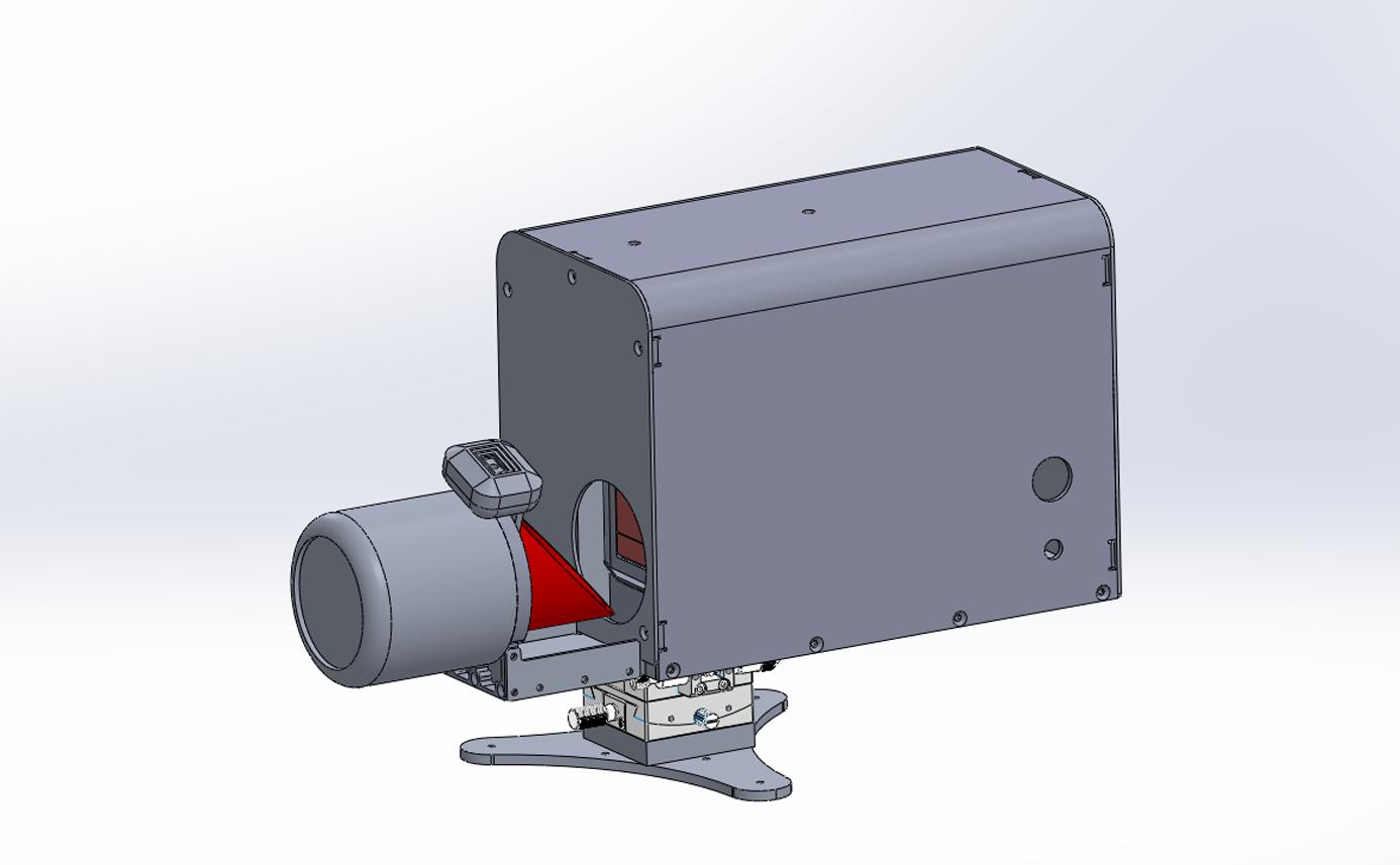 터널 내공 변위 측정장치 - 수평형 (소형), 파형강판 하단 평면부(면적이 적은곳) 설치 convergence measurement