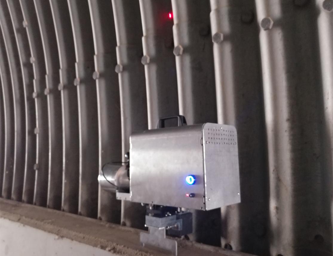 내공 변위 측정 장치 통합형 2 convergence measurement