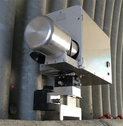 터널 내공 변위 측정장치 통합형