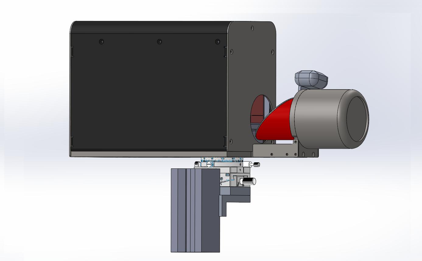 터널 내공 변위 측정장치 부착형(마그네틱 베이스- 대형) convergence measurement