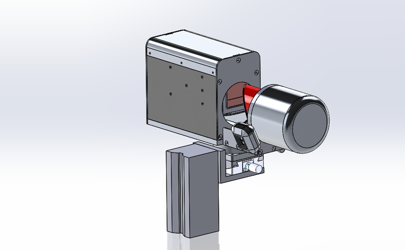 내공 변위 측정 장치 컨트롤 박스형 (마그네틱 베이스), 측정기 경량화를 위해 제어부를 분리한 모델 convergence measurement