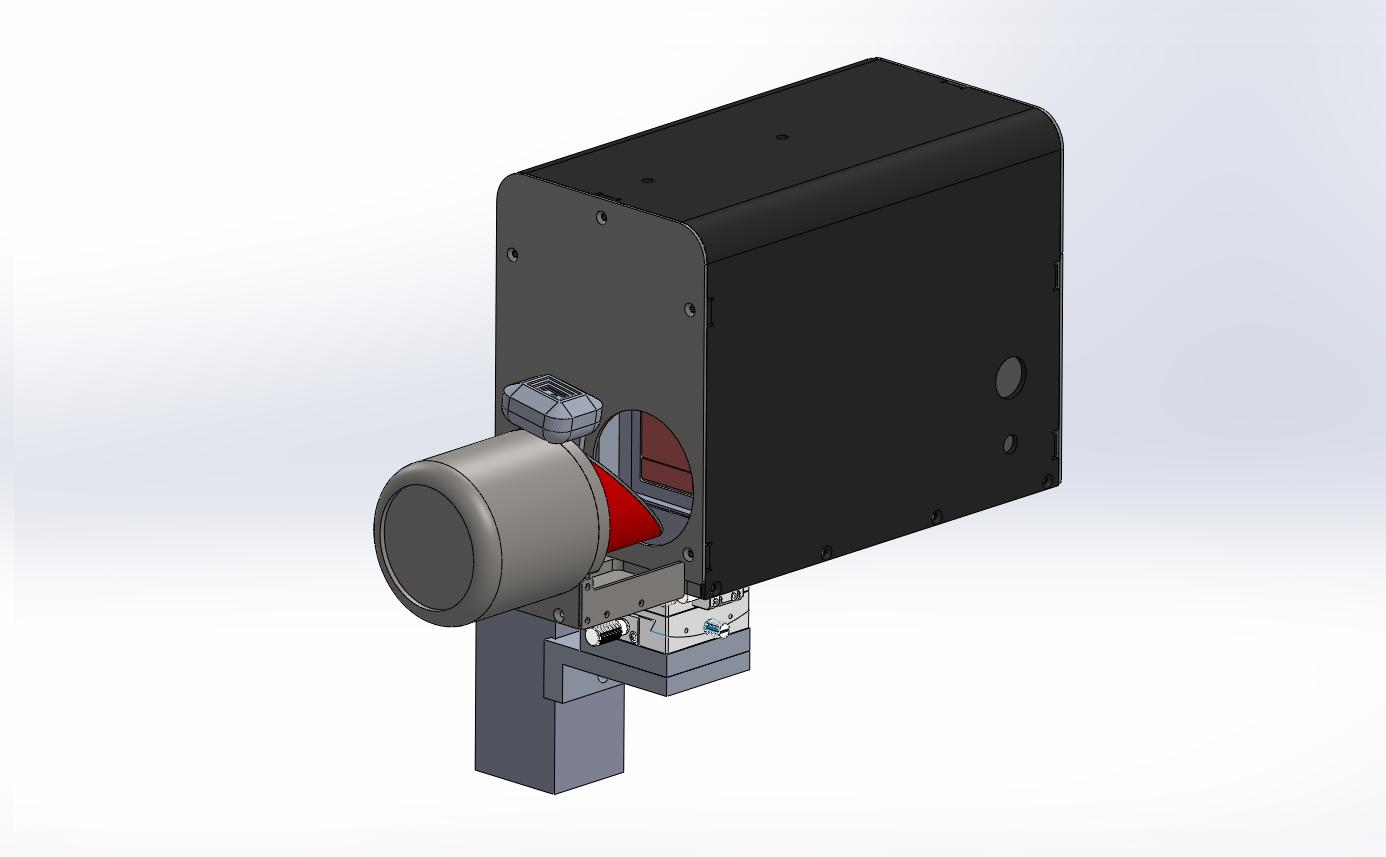 터널 내공 변위 측정장치 부착형(마그네틱 베이스- 중형) convergence measurement